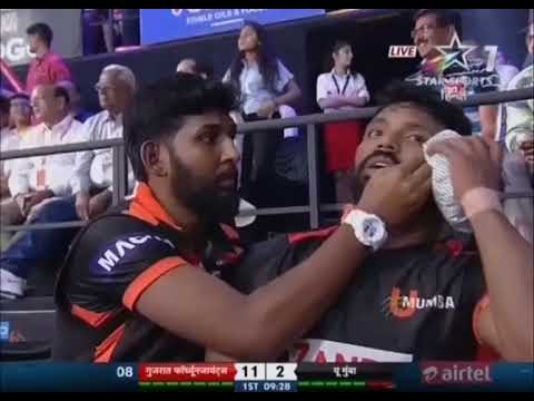 Gujarat FortuneGiants vs U Mumba: Season 5, Match 4
