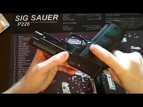 Sig P226 от Техкрим - 25000 выстрелов