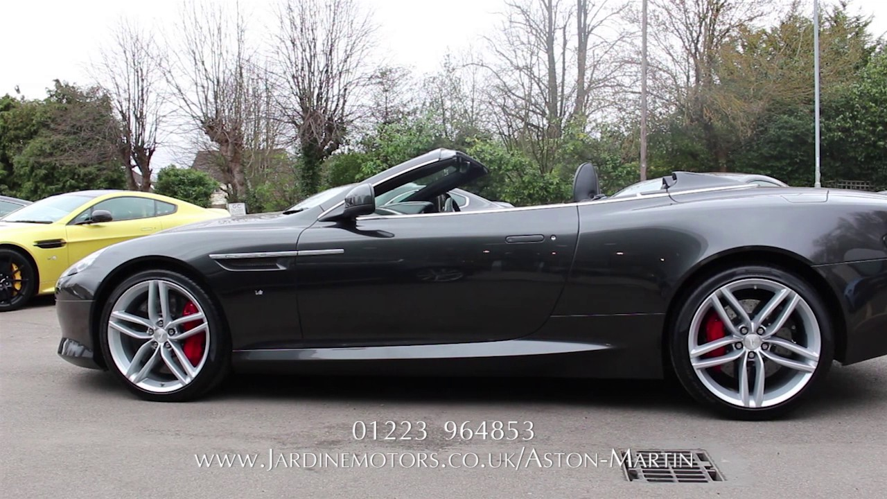 Jardine motors group aston martin db9 gt volante for Jardine motors