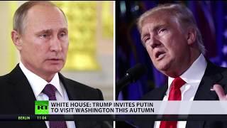 White House: Trump invites Putin to Washington this fall