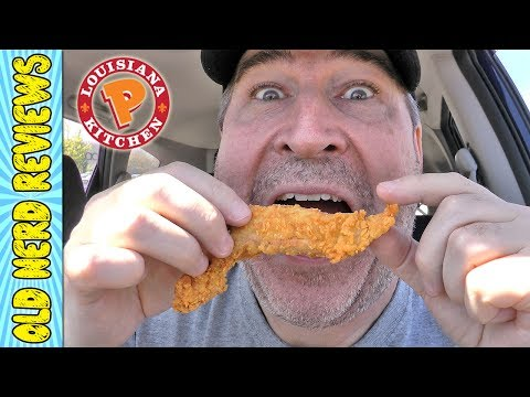Popeye's Sweet & Crunchy Chicken Tenders REVIEW 🐔