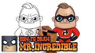 How to Draw Mr Incredible | The Incredibles 2 (Art Tutorial)