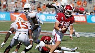 Oklahoma Vs Texas Overtime Highlights 2020 College Football