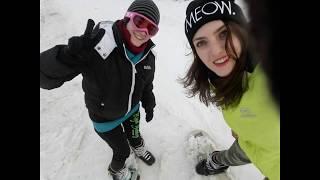 Горнолыжный курорт солнечной Греции Наше маленькое приключение Ski resort of sun Greece