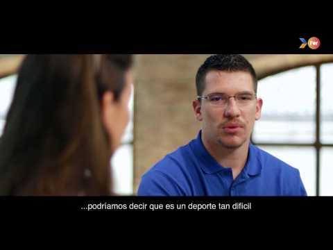 """FER 2015 """"Crec en tu"""" (creo en ti) - Entrevista de Héctor Cabrera y su hermana"""