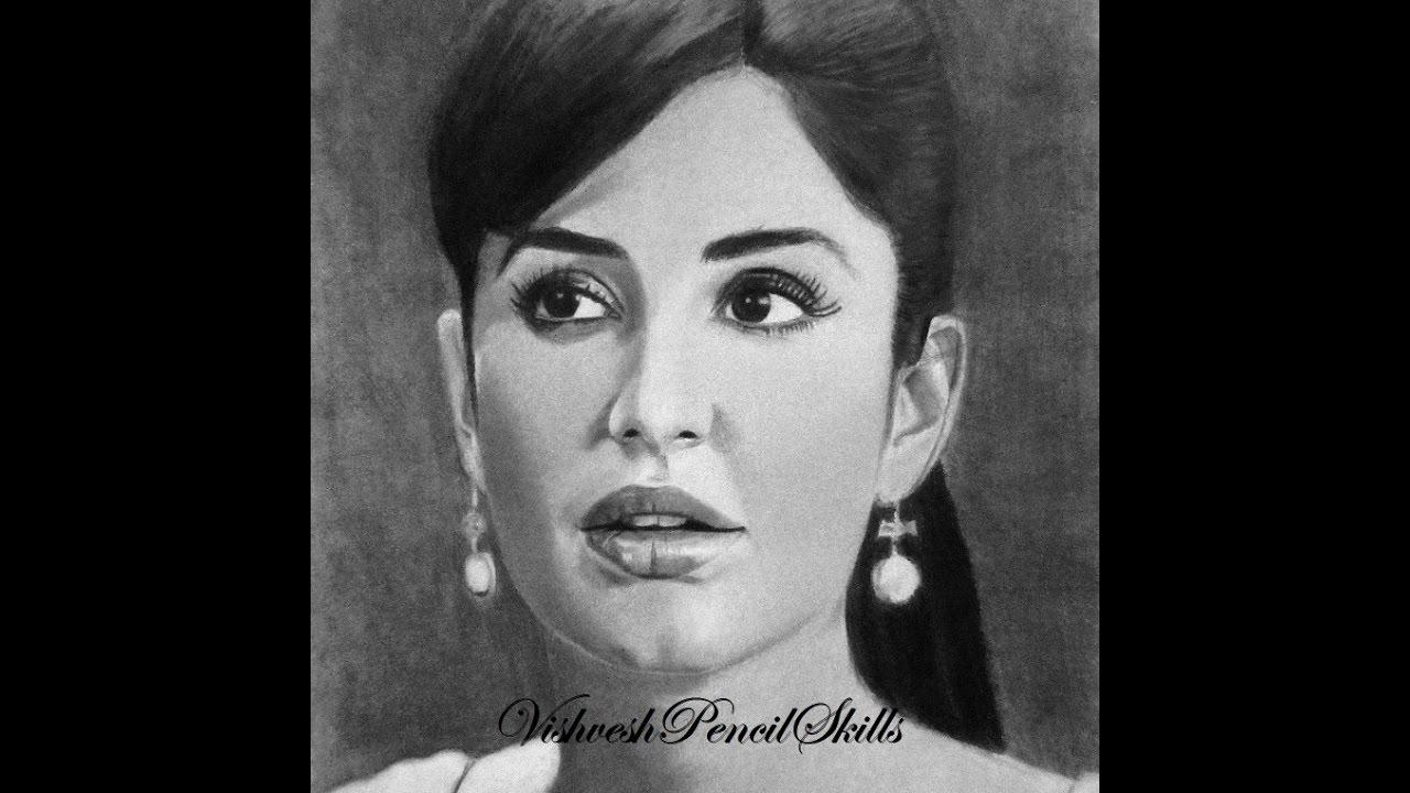 Katrina kaif drawing