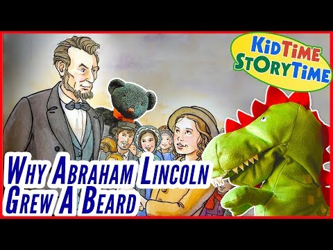 Lincoln & Grace: Why Abraham Lincoln Grew A Beard | KIDS BOOKS READ ALOUD!