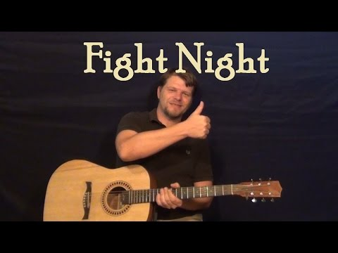 Fight Night (Migos) Easy Guitar Lesson How to Play Tutorial