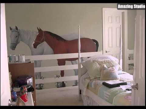 Superbe Girls Bedroom Ideas Horse