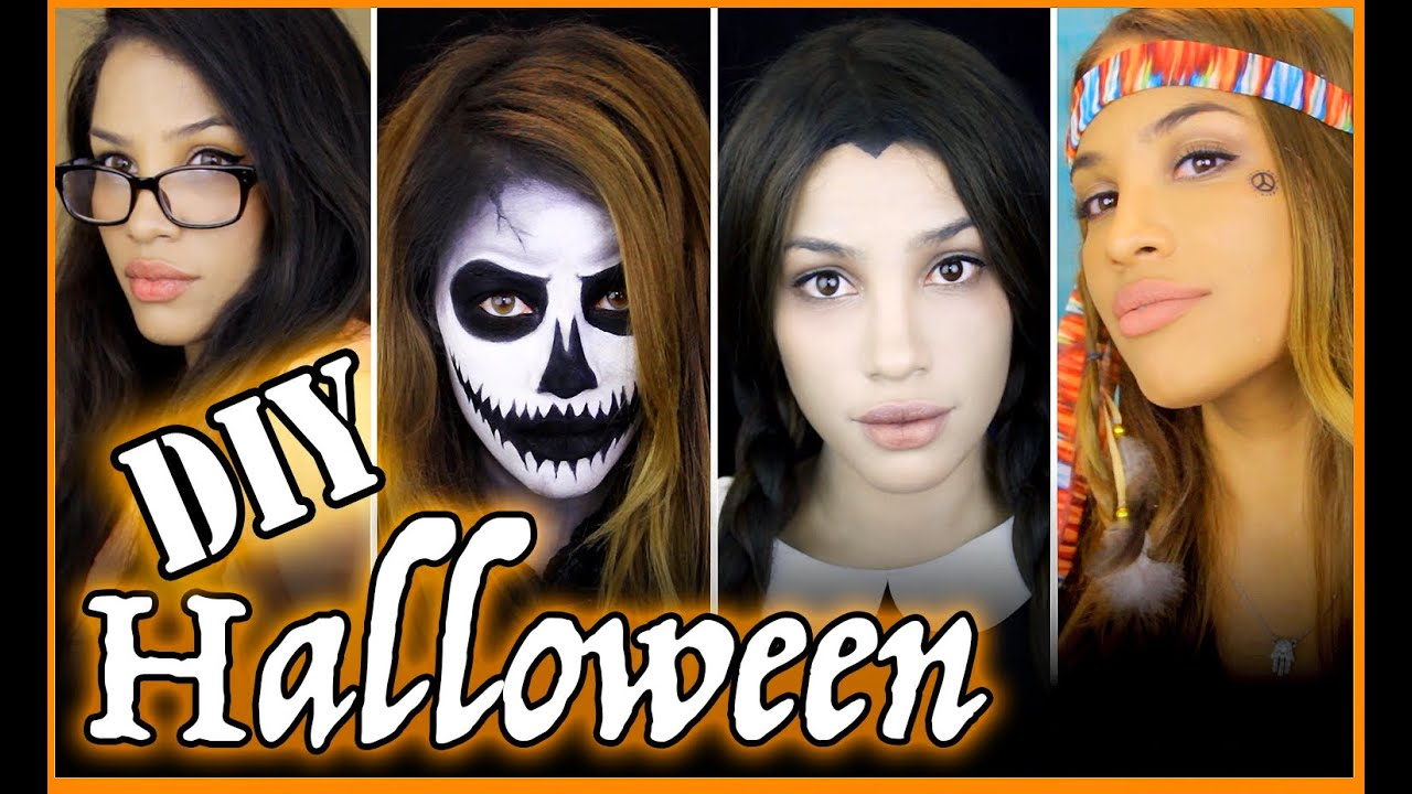 Easy diy halloween costumes youtube solutioingenieria Image collections