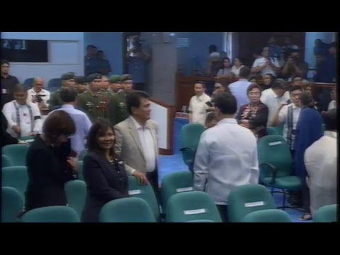 Necrological Service for the late former Senate President Edgardo J. Angara (May 16, 2018)