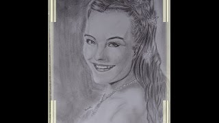 SPEED DRAWING - Sissi (Romy Schneider)