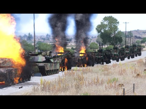 Arma 3 movie: US Army VS Army of Russian Federation