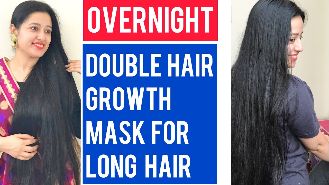 Indian Overnight Hair Growth Mask for Double Hair Growth || Long Hair Remedies || Self Care Secrets