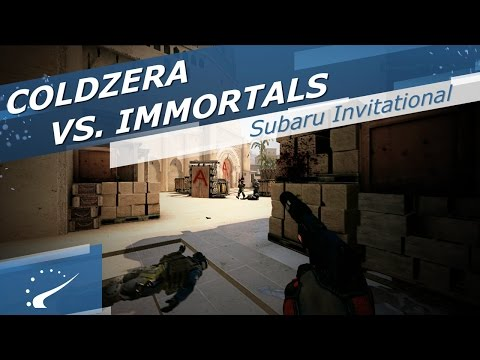 coldzera vs. Immortals - Subaru Invitational 2017