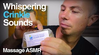 ASMR Crinkle Heaven 13 - Whispering & Crinkle Sounds