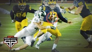 How Michigan's botched punt led to a historic win by Michigan State | Sport Science | ESPN Archives