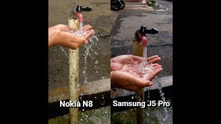 nokia N8 Camera VS Samsung J5 PRO