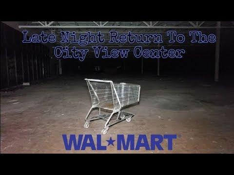 Late Night Return To The City View Center Walmart - Garfield Heights, OH