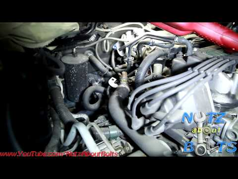 1998-2002 Honda Accord Thermostat remove and install - YouTube