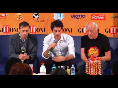 Dylan O'Brien Press Interview at Giffoni Film Festival 21/7/14