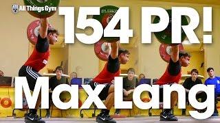 Video Max Lang 154kg Snatch PR! download MP3, 3GP, MP4, WEBM, AVI, FLV Juli 2017