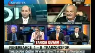 Sadri Şener'den Fenerbahçe'ye Sert Tepki
