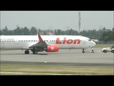 Indonesian Lion Air Passenger Plane Crashes Into Sea With 189 People On Board!