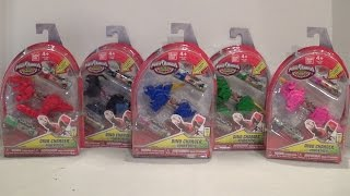 Dino Charger Power Packs Series 1 Wave 1 Review [Power Rangers Dino Charge]