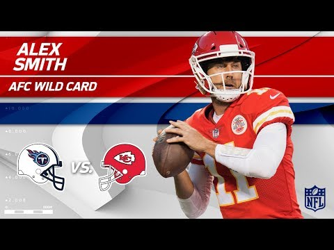 Alex Smith's 264 Yards Passing & 2 TDs vs. Tennessee!   Titans vs. Chiefs   Wild Card Player HLs