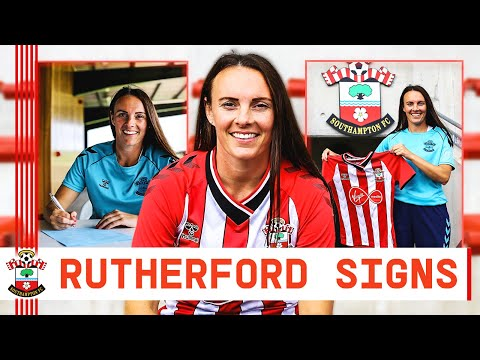 WELCOME RUTHERFORD   Southampton FC Women welcome midfielder
