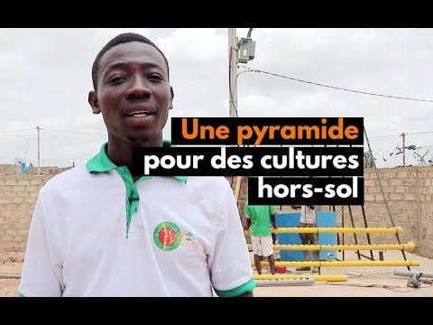 Burkina Faso Une Pyramide Pour Des Cultures Hors Sol Youtube