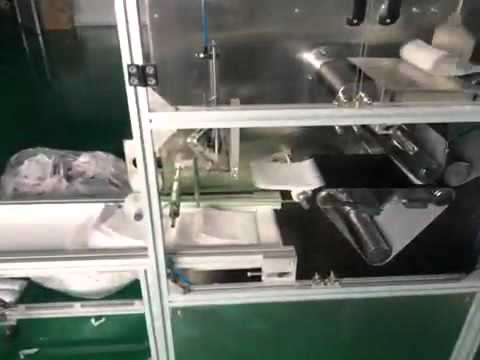 Medical Bed Sheet Folding Cutting Machine