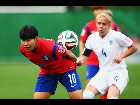 England v. Korea Republic, Canada 2014 HIGHLIGHTS