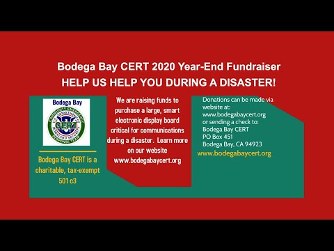 Fundraiser: HELP US HELP YOU during an emergency!