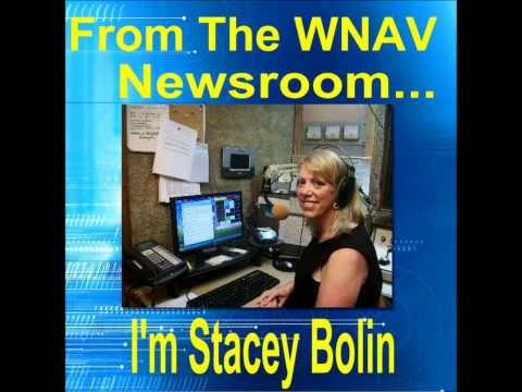 WNAV First Radio Broadcast  Stacey Bolin