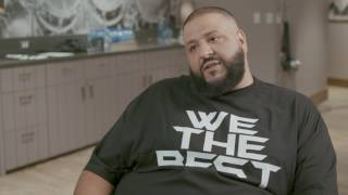 Behind the Scenes: DJ Khaled interview at WE Day Video