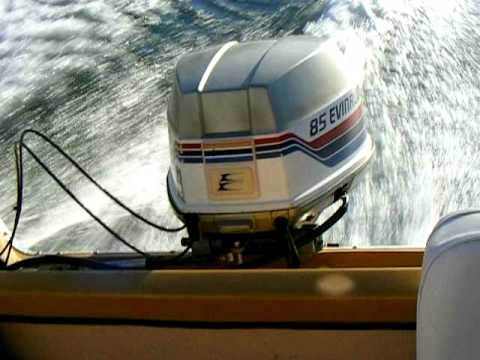 Evinrude 85hp on lake murray scavi youtube sciox Image collections