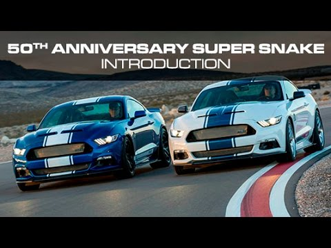 2017 Shelby Super Snake Introduction Youtube