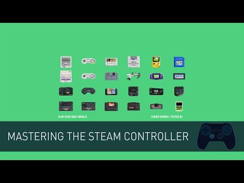 Mastering The Steam Controller - RetroArch