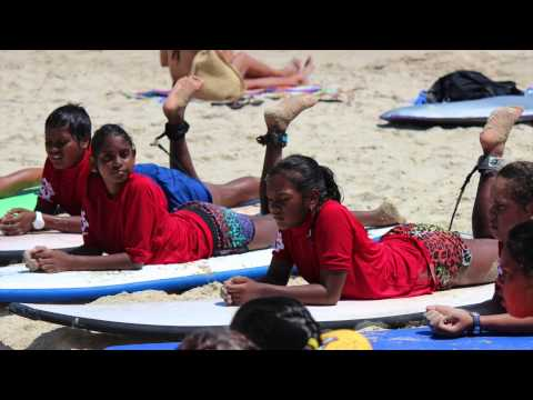 Noosa Buoyed Up Indigenous Program - Murgon State School Dec 2014 (short)