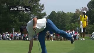 2018 PGA Championship Round 1 - Live Look-In of Patrick Reed, Brooks Koepka and Francesco Molinari