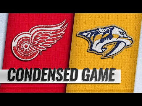 02/12/19 Condensed Game: Red Wings @ Predators