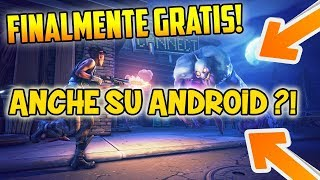 FORTNITE ANDROID - Save the world for FREE?! Also on MOBILE?!