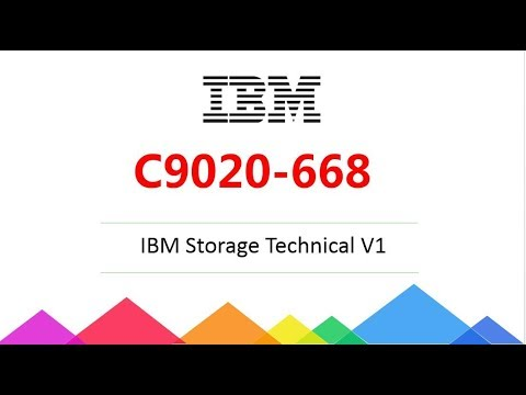 [New Released] C9020-668 IBM Storage Technical V1 dumps|Passcert Latest Dumps