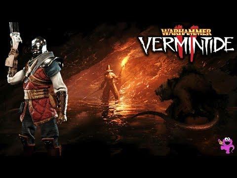 HUNGER IN THE DARK - Champion Bounty Hunter - Warhammer Vermintide 2 Gameplay