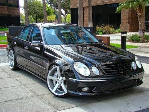 tuning mercedes w211 e55 amg youtube. Black Bedroom Furniture Sets. Home Design Ideas