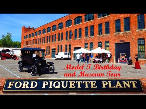 Ford Piquette Plant Model T Birthday Event And Museum Tour