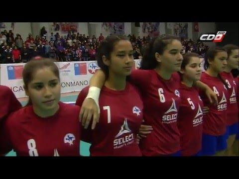 Panamericano Balonmano Juvenil Femenino: Chile 31-24 Paraguay