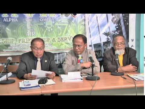 GPRS/UPS presentation at TV 13 with APO program. (Maranaw Language)